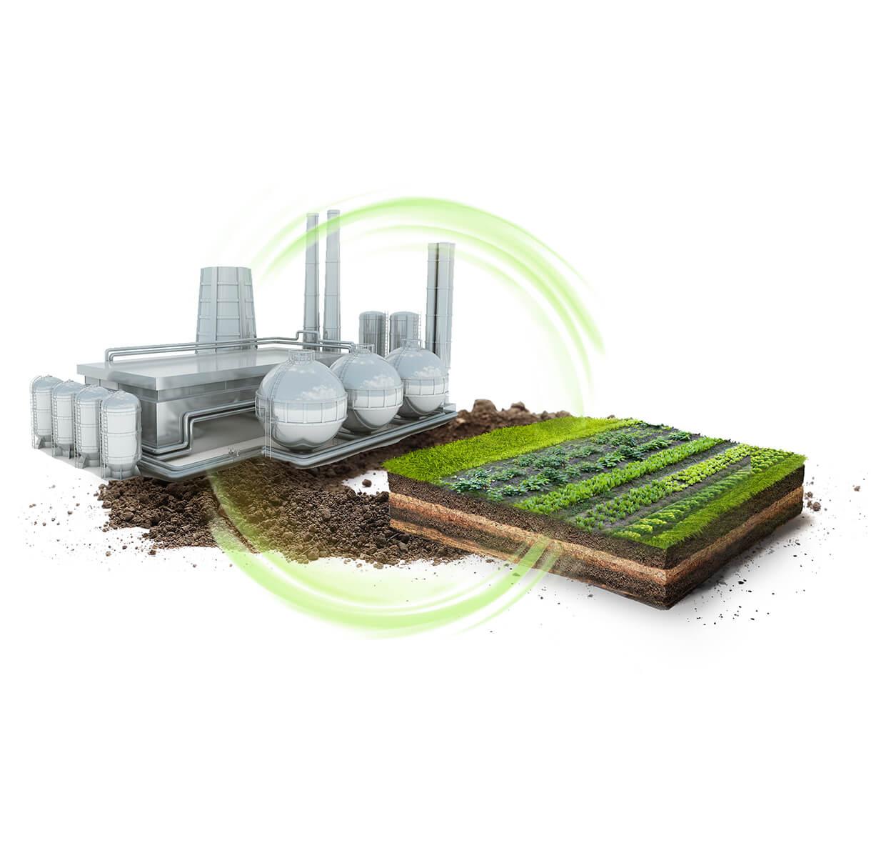 نحن نصنع التكنولوجيا الحيوية الإنتاجية